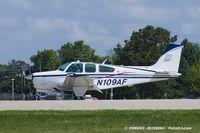 N109AF @ KOSH - Beech F33A Bonanza  C/N CE-983, N109AF - by Dariusz Jezewski www.FotoDj.com