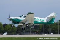 N4843W @ KOSH - Rockwell International 114 Commander  C/N 14173, N4843W