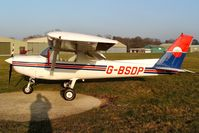 G-BSDP @ EGLD - Previously N24468. The low mid-winter sun brings out the colours. Operated by The Pilot Centre Denham. With thanks to The Pilot Centre. - by Glyn Charles Jones