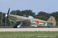 N1157H @ KOSH - Yakovlev Yak-9U-M  C/N 470402, NX1157H - by Dariusz Jezewski www.FotoDj.com