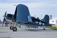 N451FG @ KOSH - Goodyear FG-1D Corsair  C/N 3660, NX451FG