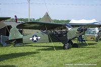 N42220 @ KOSH - Piper J3C-65 Cub  C/N 14470, N42220 - by Dariusz Jezewski www.FotoDj.com