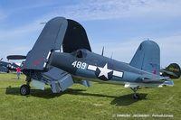 N209TW @ KOSH - Goodyear FG-1D Corsair  C/N 3750 (92489), NX209TW