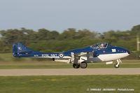 N115DH @ KOSH - De Havilland DH-115 Vampire  C/N 866, N115DH - by Dariusz Jezewski www.FotoDj.com