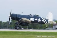 N72NW @ KOSH - Goodyear FG-1D Corsair  C/N 3697 (92436), NX72NW