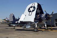 N83JC @ KFRG - Goodyear FG-1D Corsair Skyboss  C/N 67089, NX83JC