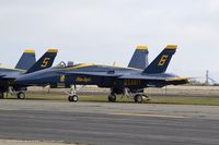 163455 @ KOQU - F/A-18C Hornet 163455 C/N 0669 from Blue Angels Demo Team  NAS Pensacola, FL - by Dariusz Jezewski www.FotoDj.com