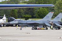 91-0376 @ KOQU - F-16CJ Fighting Falcon 91-0376 SW from 77th FS Gamblers 20th FW Shaw AFB, SC