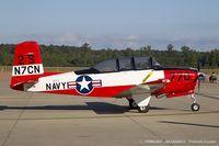 N7CN @ KNTU - Beech A45 (T-34A) Mentor  C/N CCF34-45, N7CN - by Dariusz Jezewski www.FotoDj.com