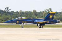 163455 @ KNTU - F/A-18C Hornet 163455 C/N 0669 from Blue Angels Demo Team  NAS Pensacola, FL - by Dariusz Jezewski www.FotoDj.com