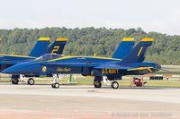 163754 @ KNTU - F/A-18C Hornet 163754 C/N 0817 from Blue Angels Demo Team  NAS Pensacola, FL - by Dariusz Jezewski www.FotoDj.com