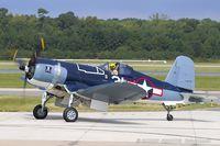 N46RL @ KNTU - Goodyear FG-1D Corsair C/N 92508, N46RL