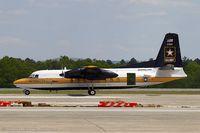 85-1607 @ KCEF - C-31A Troopship (F-27-400M) 85-1607 US Army