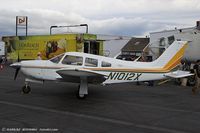 N1012X @ KRDG - Piper PA-28R-200 Arrow II  C/N 28R-7535215, N1012X - by Dariusz Jezewski www.FotoDj.com