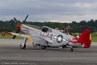 N61429 @ KRDG - North American P-51C Mustang Tuskegee Airman C/N 103-26199, NX61429 - by Dariusz Jezewski www.FotoDj.com