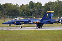163754 @ KYIP - F/A-18C Hornet 163754 C/N 0817 from Blue Angels Demo Team  NAS Pensacola, FL - by Dariusz Jezewski www.FotoDj.com