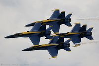 163491 @ KYIP - F/A-18C Hornet 163491 C/N 0727 from Blue Angels Demo Team  NAS Pensacola, FL - by Dariusz Jezewski www.FotoDj.com
