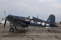 N773RD @ KYIP - Goodyear FG-1D Corsair Marine's Dream, NX773RD