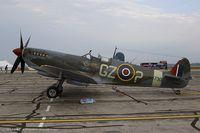 N730MJ @ KYIP - Supermarine Spitfire Mk IX  C/N CBAF 7243, N730MJ