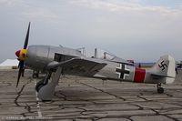N190BR @ KYIP - Focke-Wulf 190 A8  replica C/N 005, N190BR