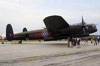 C-GVRA @ KYIP - Avro 683 Lancaster B10  C/N FM 213, C-GVRA