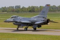 91-0376 @ KYIP - F-16CJ Fighting Falcon 91-0376 SW from 77th FS Gamblers 20th FW Shaw AFB, SC - by Dariusz Jezewski www.FotoDj.com