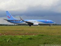 D-ATUQ @ EDDL - Boeing 737-8K5(W) - X3 TUI TUIfly - 41663 - D-ATUQ - 29.07.2015 - DUS - by Ralf Winter