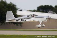 N124CT @ KOSH - Vans RV-7  C/N 70124, N124CT - by Dariusz Jezewski www.FotoDj.com
