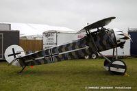 N94100 @ KOSH - Fokker D-8 (replica)  C/N 941, N94100