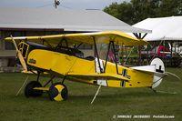 N2466C @ KOSH - Fokker D-VII (replica)  C/N 111022, N2466C