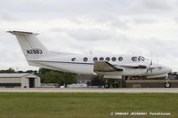 N2883 @ KOSH - Beech 200 Super King Air  C/N BB-144, N2883