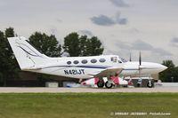 N421JT @ KOSH - Cessna 421C Golden Eagle  C/N 421C0666, N421JT