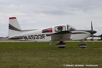 N4533F @ KOSH - Gulfstream American Corp AA-5B Tiger  C/N AA5B1181, N4533F