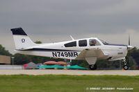 N749MR @ KOSH - Beech F33A Bonanza  C/N CE859, N749MR - by Dariusz Jezewski www.FotoDj.com