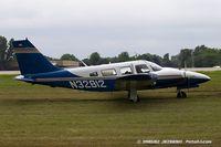 N32812 @ KOSH - Piper PA-34-200T Seneca II  C/N 34-7570056, N32812