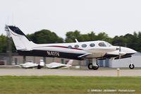 N411V @ KOSH - Cessna 340  C/N 340-0250, N411V