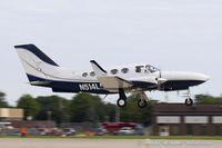 N514LP @ KOSH - Cessna 414A Chancellor  C/N 414A0507, N514LP