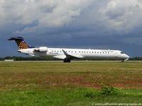 D-ACNR @ EDDL - Bombardier CL-600-2D24 CRJ-900 - EW EWG Eurowings Lufthansa Regional - 15263 - D-ACNR - 29.07.2015 - DUS - by Ralf Winter