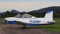 G-AZRP @ EGCW - Evening fly in. - by BRIAN NICHOLAS