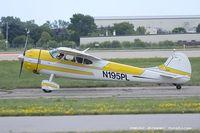 N195PL @ KOSH - Cessna 195 Businessliner  C/N 7262, N195PL