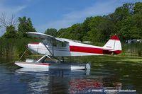 N412SC @ KOSH - Piper PA-12 Super Cruiser  C/N 12-868, N412SC