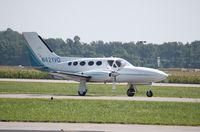 N421VG @ KMDH - Cessna 421C