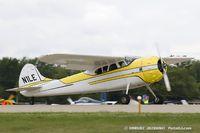 N1LE @ KOSH - Cessna 195A Bussinesliner  C/N 7729, N1LE