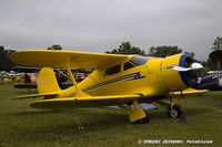 N27E @ KOSH - Beech D17S Staggerwing  C/N 6883, NC27E