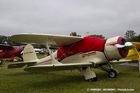 N79091 @ KOSH - Beech D17S Staggerwing  C/N 1020, NC79091