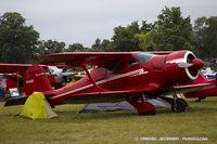 N114H @ KOSH - Beech D17S Staggerwing  C/N 327, N114H
