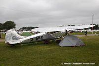 CF-MLB @ KOSH - Cessna 195 Businessliner   C/N 7675, CF-MLB