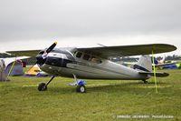 N725J @ KOSH - Cessna 195 Businessliner   C/N 7672, N725J