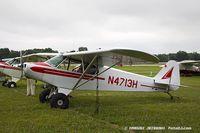 N4713H @ KOSH - Piper PA-11 Cub Special  C/N 11-501, N4713H