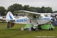 N5883Z @ KOSH - Piper PA-22-108 Tri-Pacer  C/N 22-9745, N5883Z